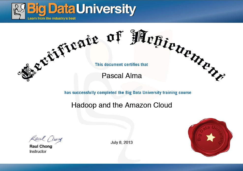 Tutorial Review: Hadoop on the Amazon Cloud by \'Big Data University ...